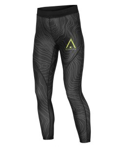 WEARCOLOUR PULSE BLACK ELEVATION LEGGINGS