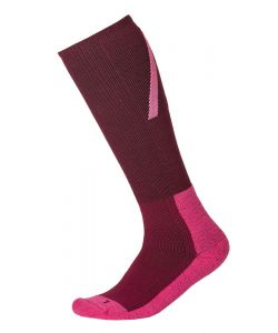 WEARCOLOUR RACE PLUM SNOW SOCKS