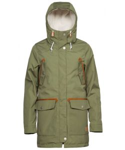Wearcolour Range Parka Loden Women's Jacket