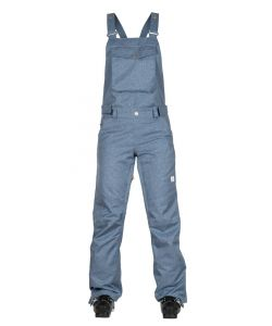 WEARCOLOUR RIDE BIB DENIM BLUE WOMENS SNOW PANTS
