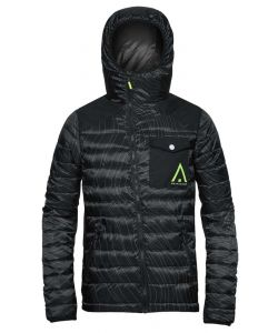 WEARCOLOUR ZEST BLACK ELEVATION SNOW JACKET