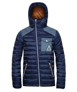 WEARCOLOUR ZEST MIDNIGHT BLUE SNOW JACKET