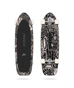 Yow X Pukas Dark 34'' Surfskate