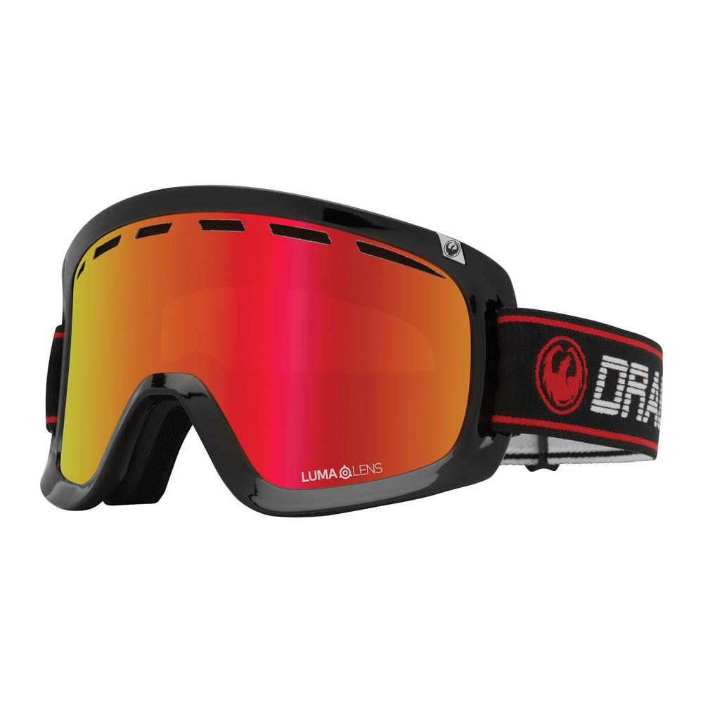 Dragon D1 OTG Infrared w/Lumalens Red Ion + Bonus Lens Snow Μάσκα