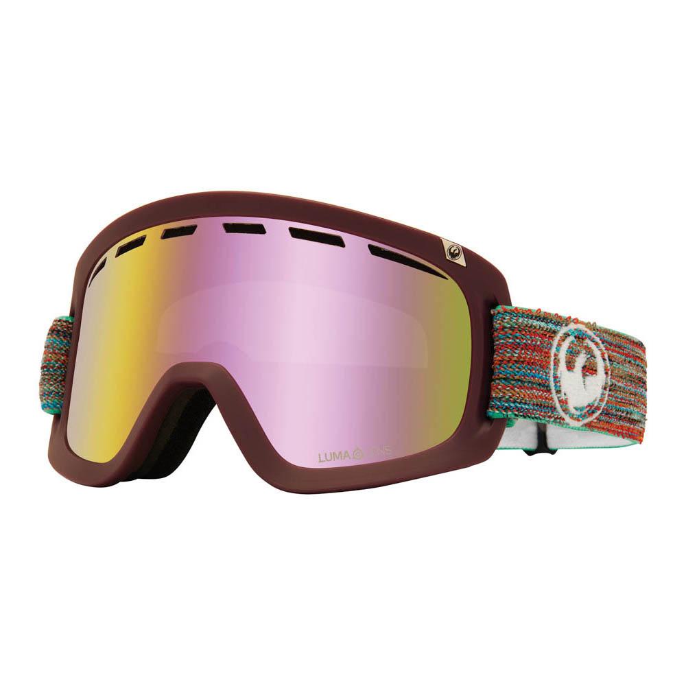 Dragon D1 OTG Shred Together w/Lumalens Pink Ion + Bonus Lens Snow Μάσκα