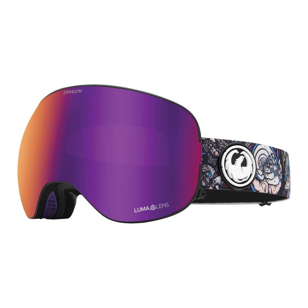 Dragon X2 Schoph W/Lumalens Purple Ion + Bonus Lens Snow Μάσκα