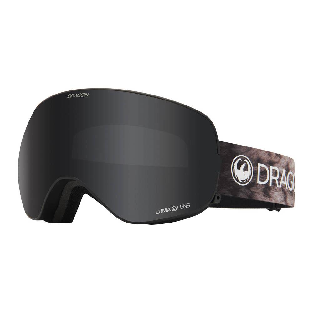 Dragon X2s Snow Leopard w/Lumalens Dark Smoke + Bonus Lens Snow Μάσκα