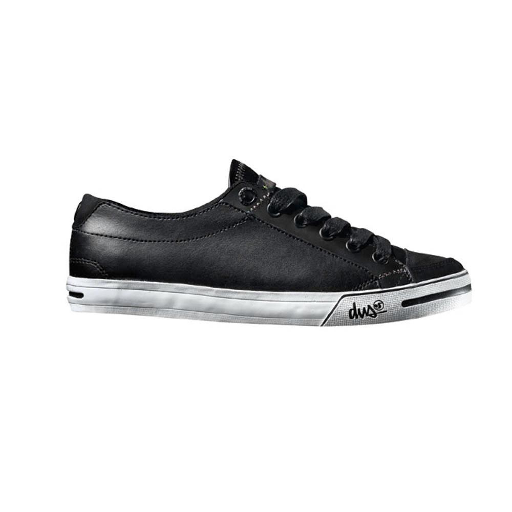 DVS Farah Black Leather Γυναικεία Παπούτσια