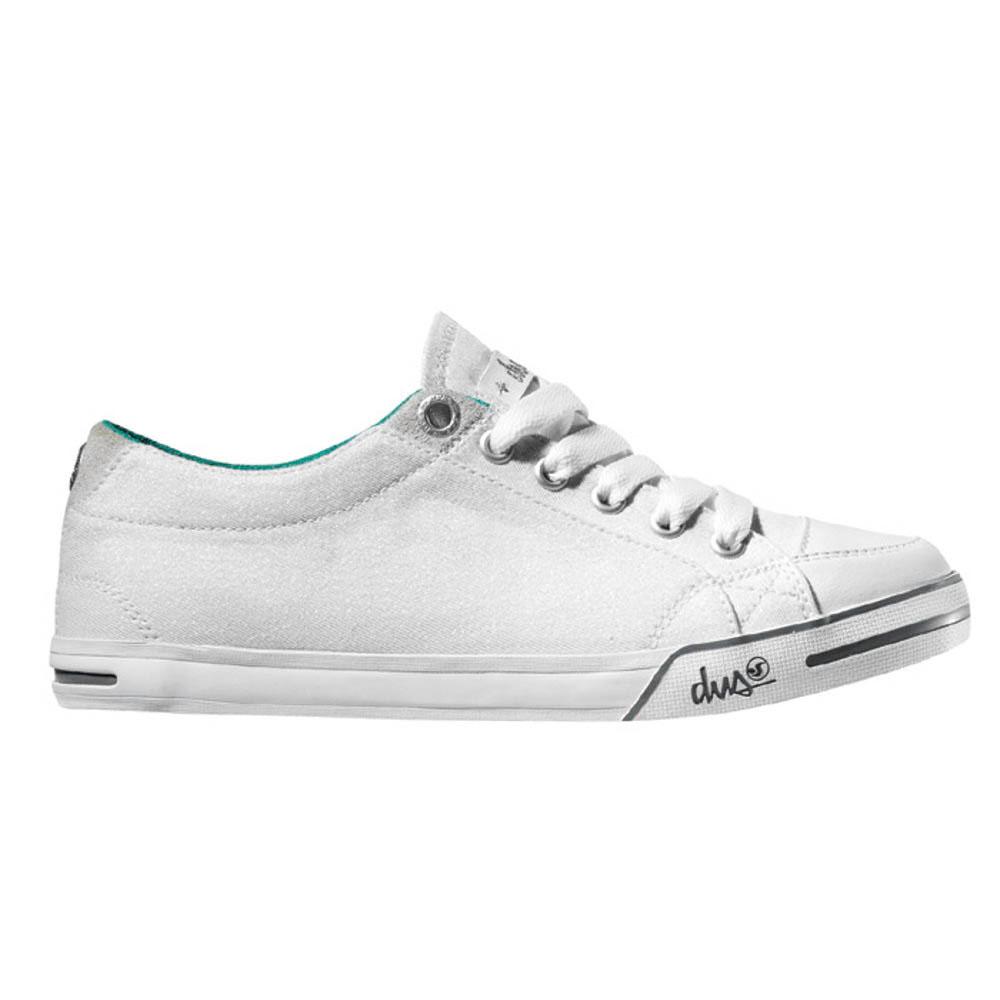 DVS Farah White Irides Women's Shoes