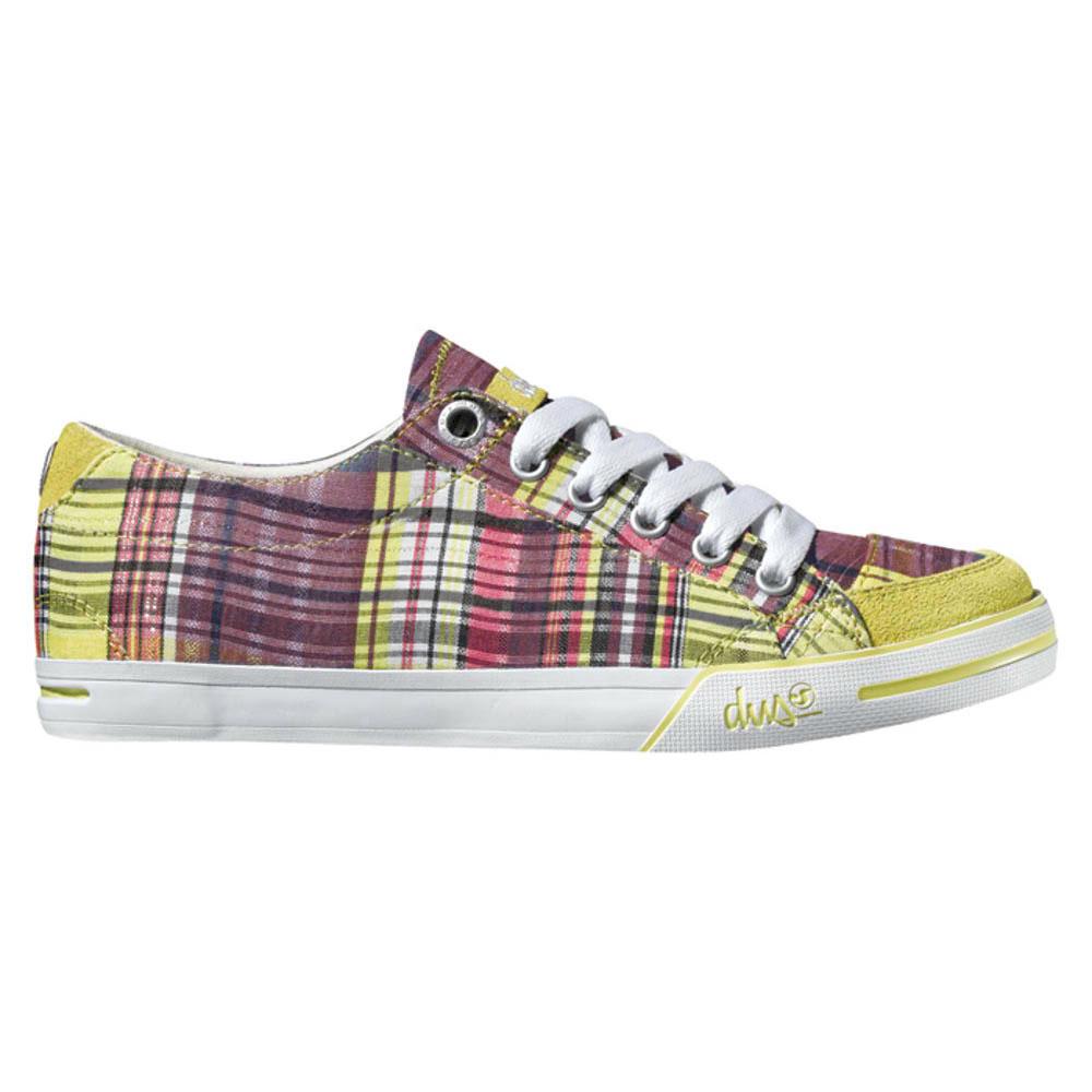 DVS Farah Yellow Plaid Canvas Γυναικεία Παπούτσια