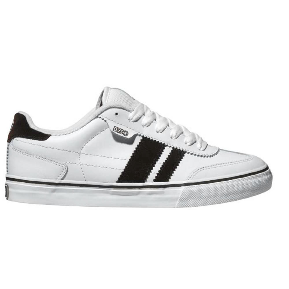 DVS Milan Ct White Brown Leather Men's Shoes