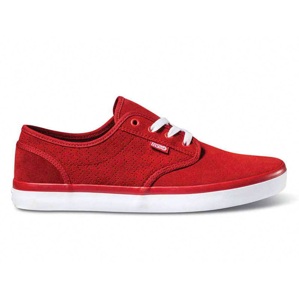 DVS Rico Ct Red Suede Ανδρικά Παπούτσια