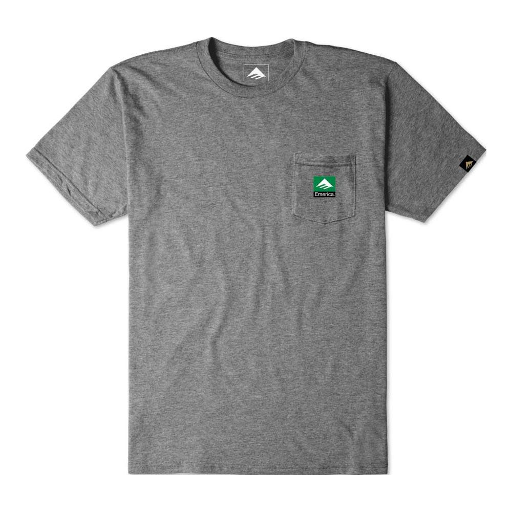 Emerica Combo Pocket Charcoal Heather Men's T-shirt