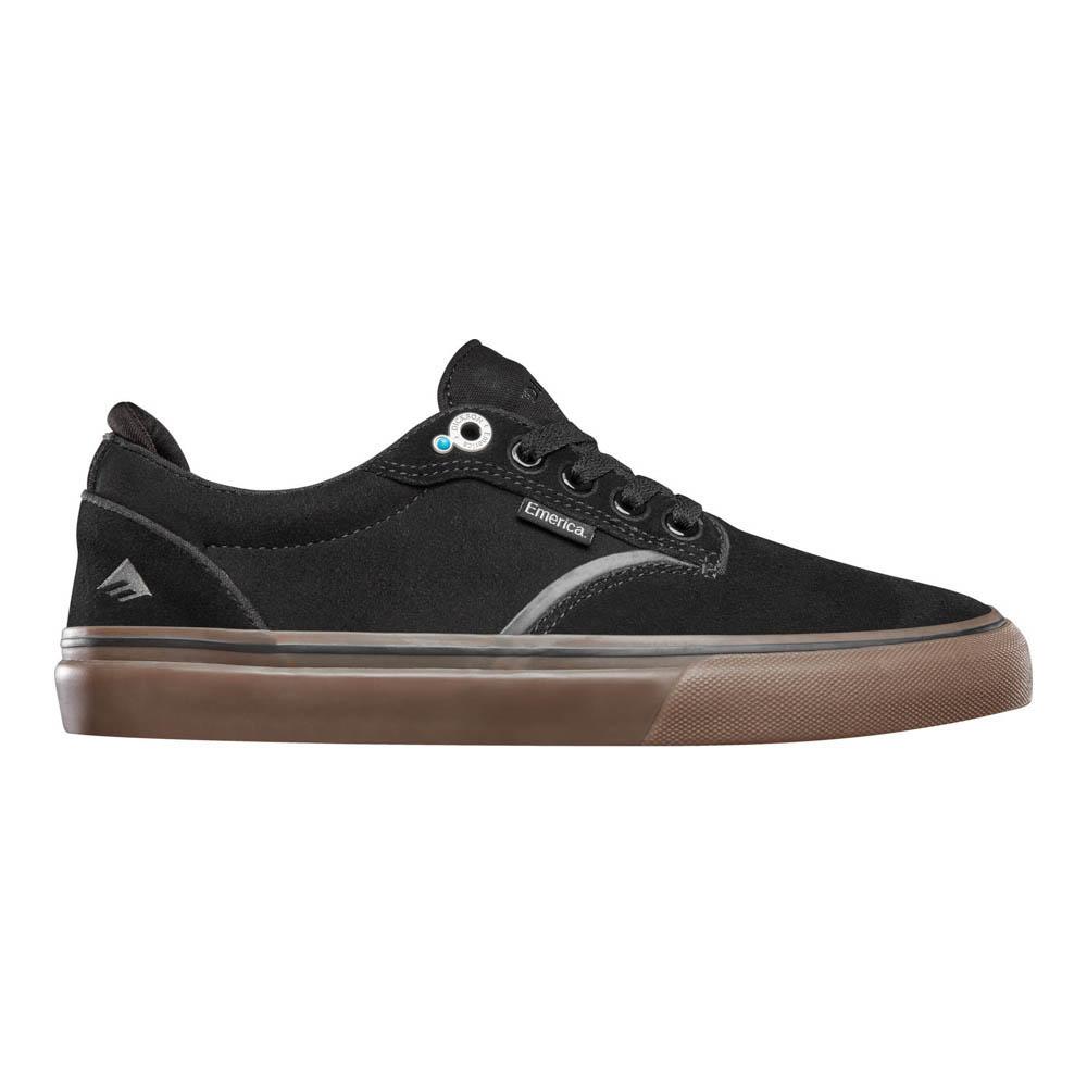 Emerica Dickson Black Gum Ανδρικά Παπούτσια