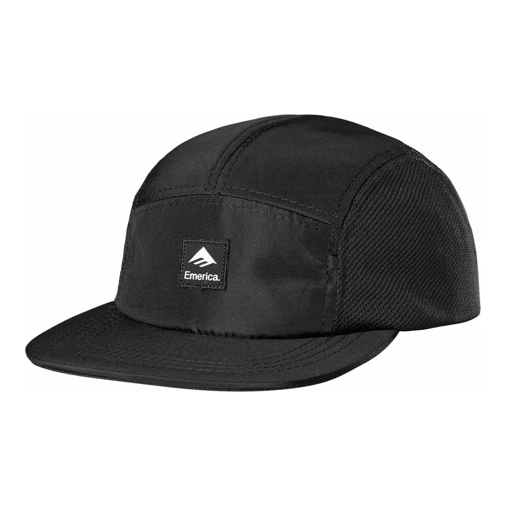 Emerica Logo Patch Camper Black Hat