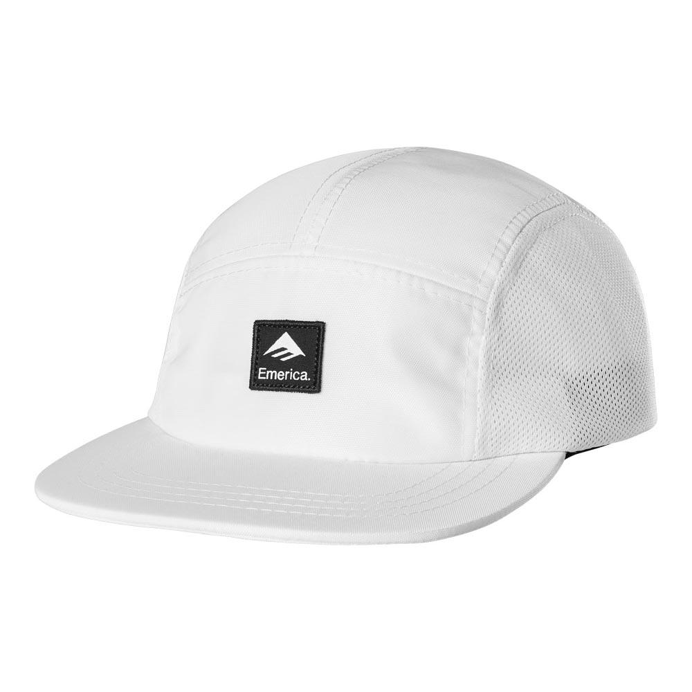 Emerica Logo Patch Camper White Hat