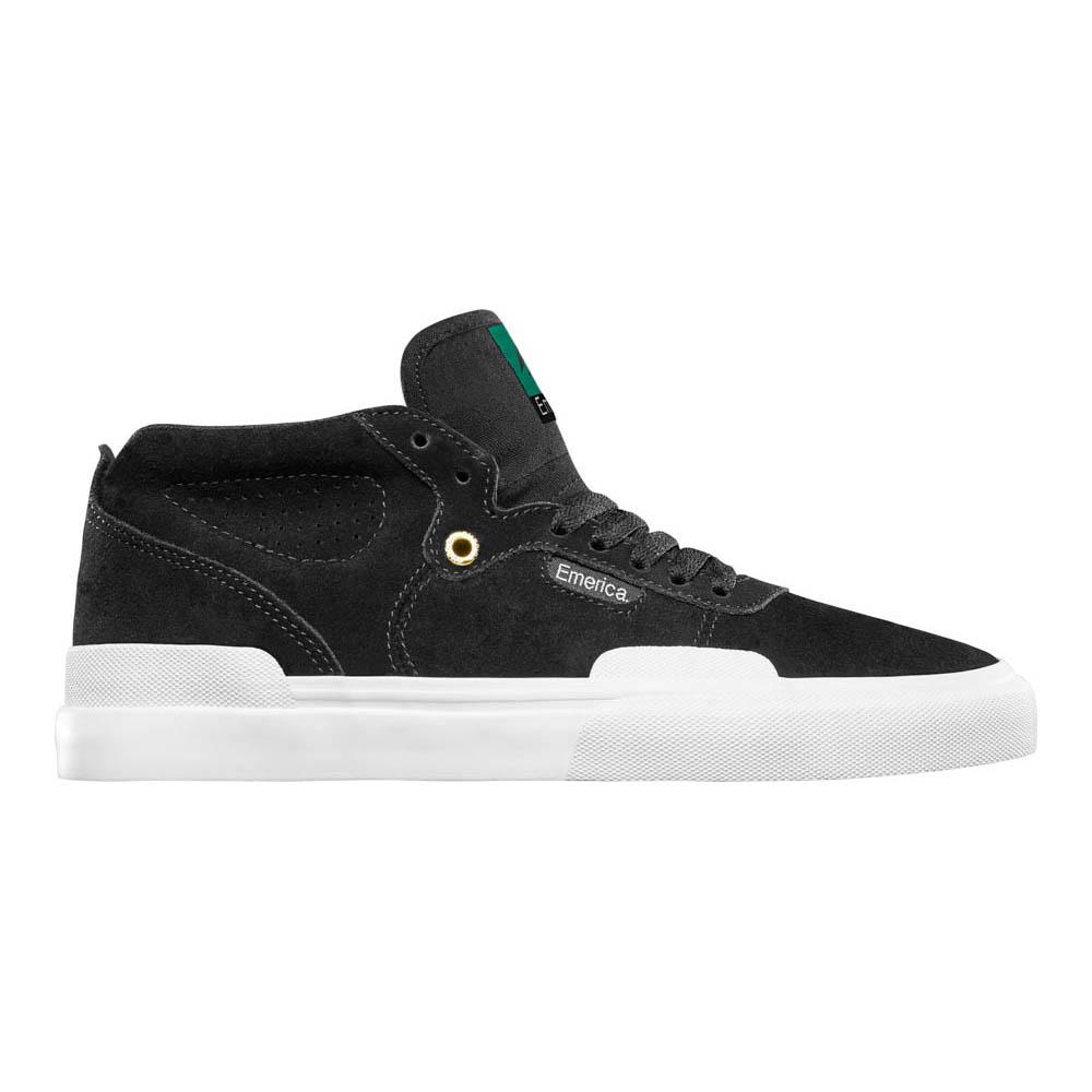 Emerica Pillar Black White Gold Ανδρικά Παπούτσια