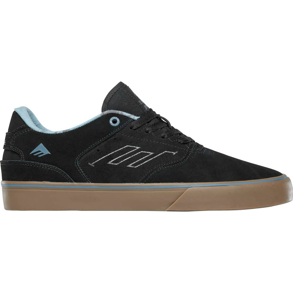 EMERICA THE REYNOLDS LOW VULC BLACK GUM GREY ΠΑΠΟΥΤΣΙΑ