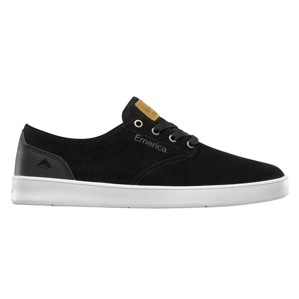 Emerica The Romero Laced Black Black White Ανδρικά Παπούτσια