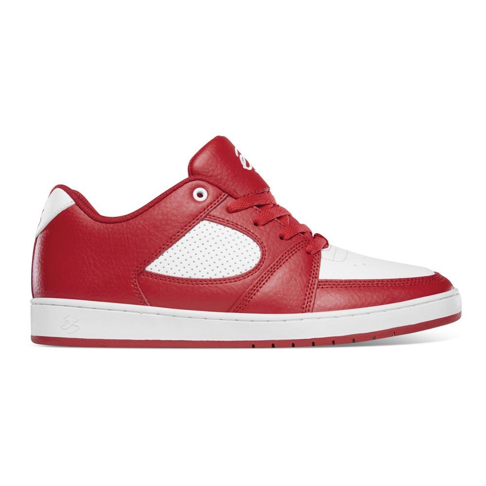 Es Accel Slim Red White Men's Shoes