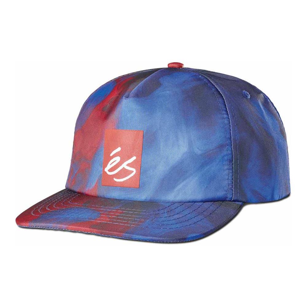 Es Hyper Beauty 6-Panel Clipback Red Blue Hat