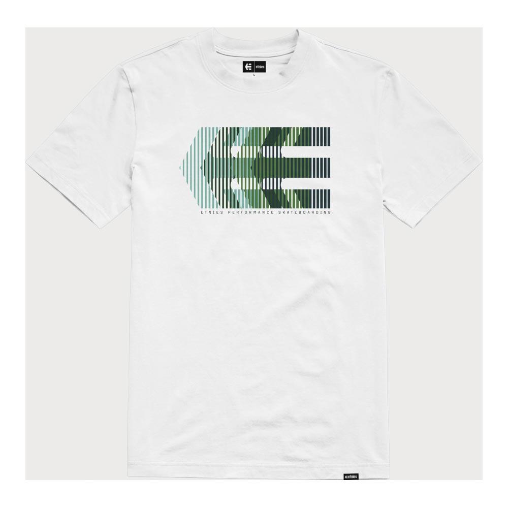 Etnies Afterburn White Green Men's T-Shirt