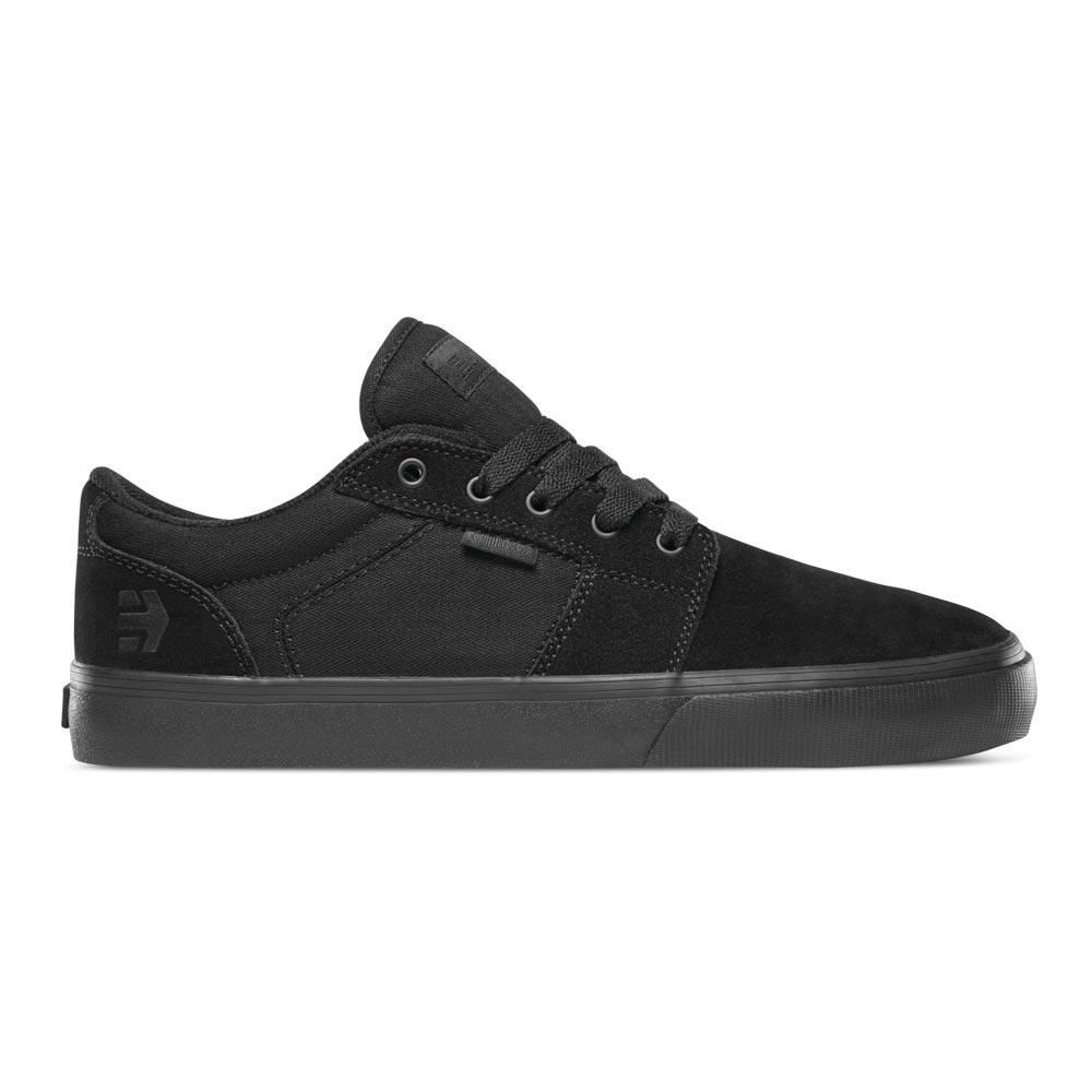 Etnies Barge Ls Black Black Black Men's Shoes
