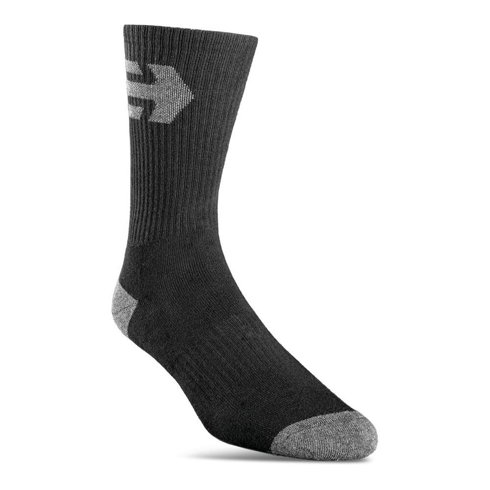 Etnies Direct 3-Pack Black Socks