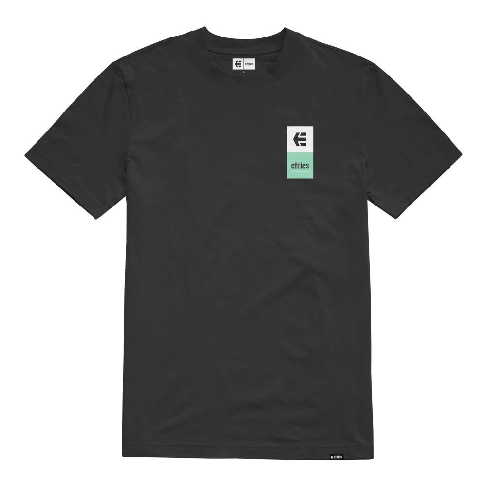 Etnies Eblock Stack Black Mint Men's T-Shirt