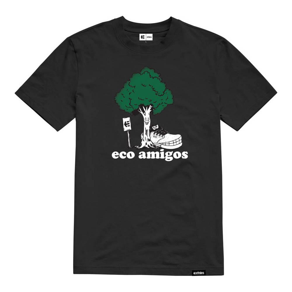 ETNIES ECO AMIGO BLACK T-SHIRT