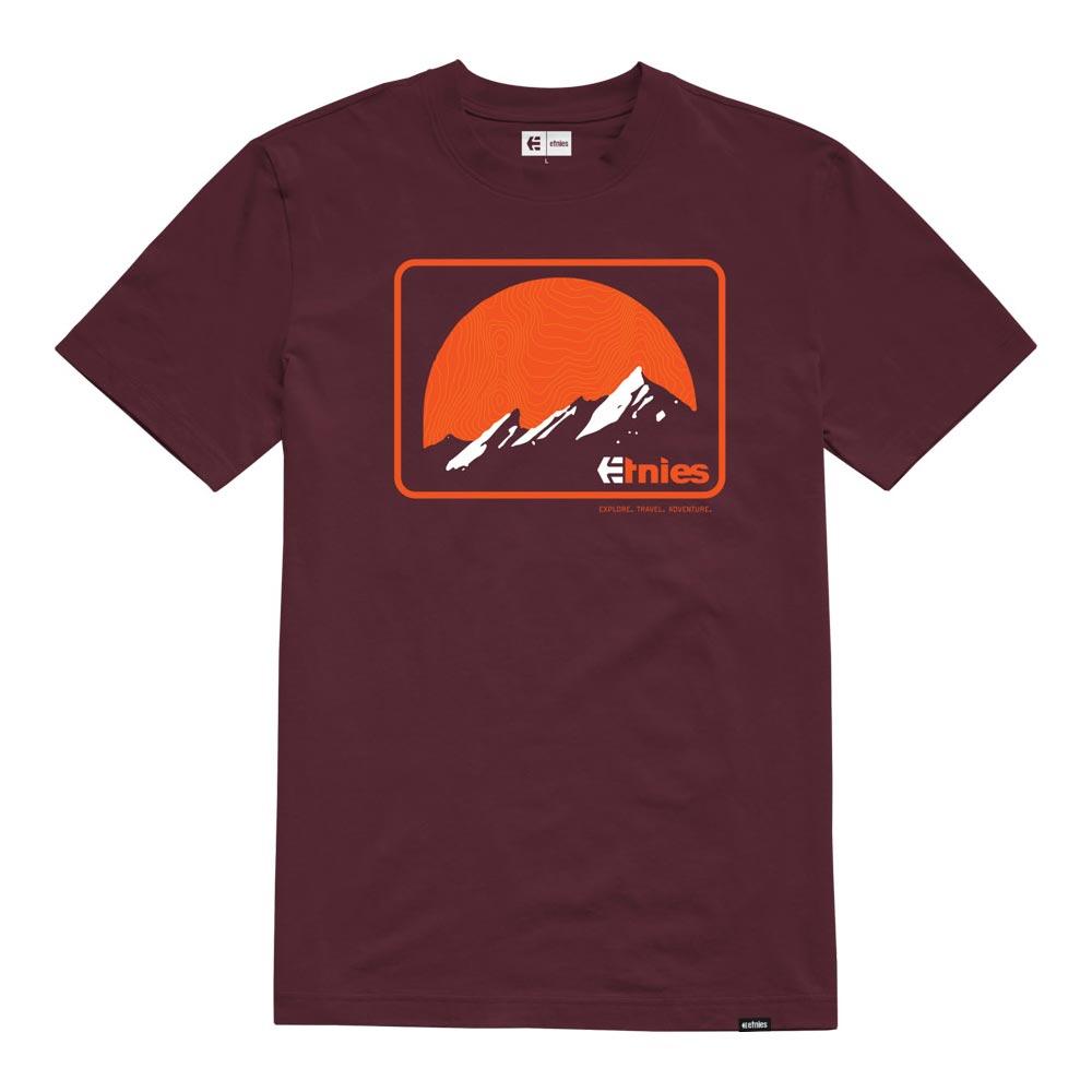 Etnies ETA MTN Burgundy Men's T-Shirt