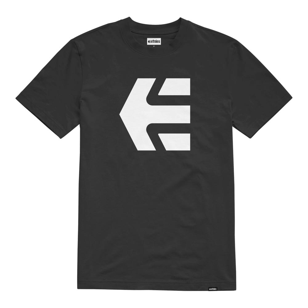 Etnies Icon Black White Men's T-Shirt