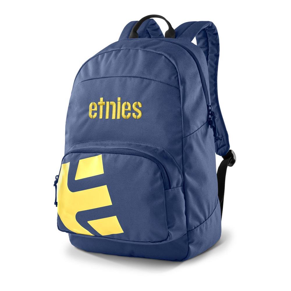Etnies Locker Navy Yellow Backpack