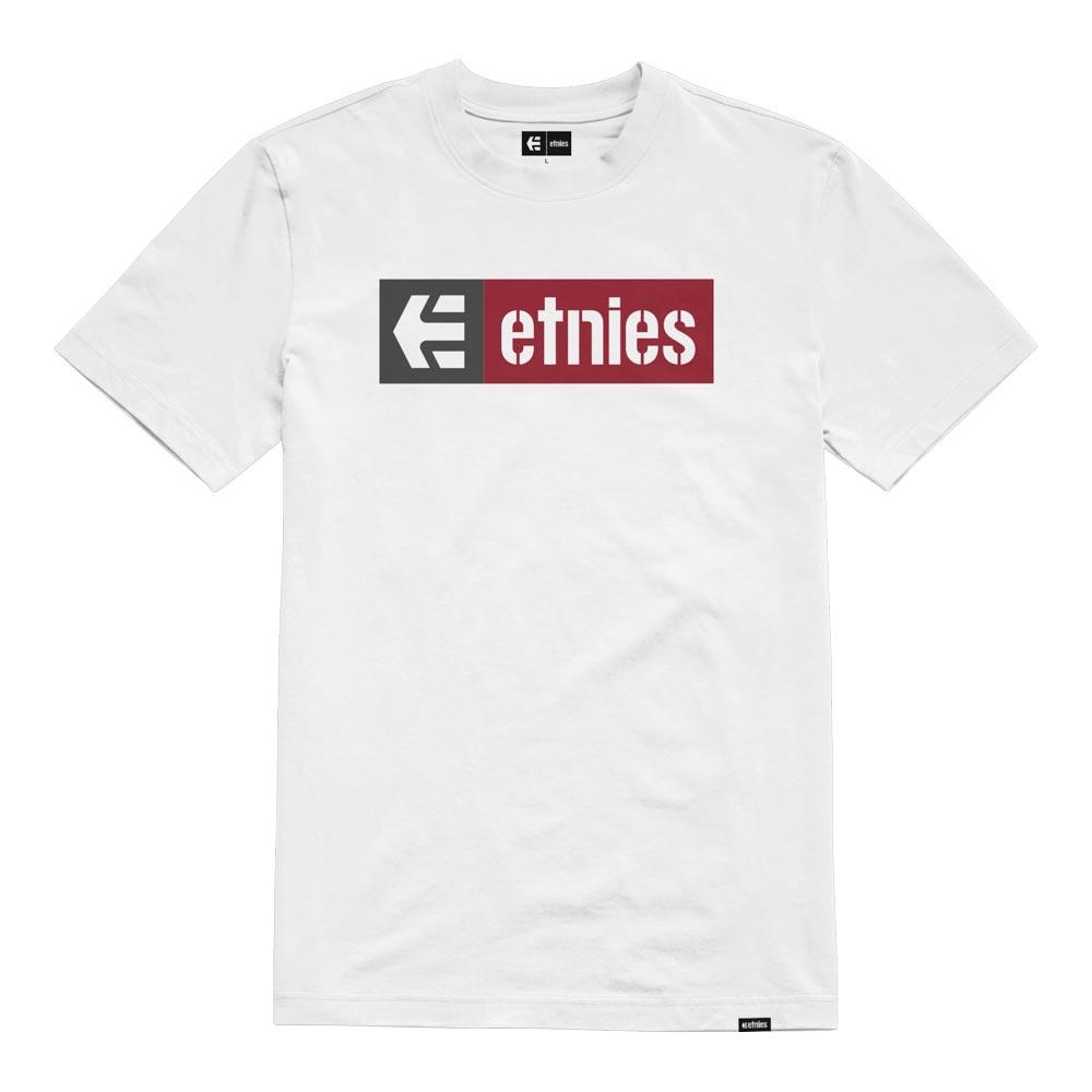 Etnies New Box White Red Men's T-Shirt