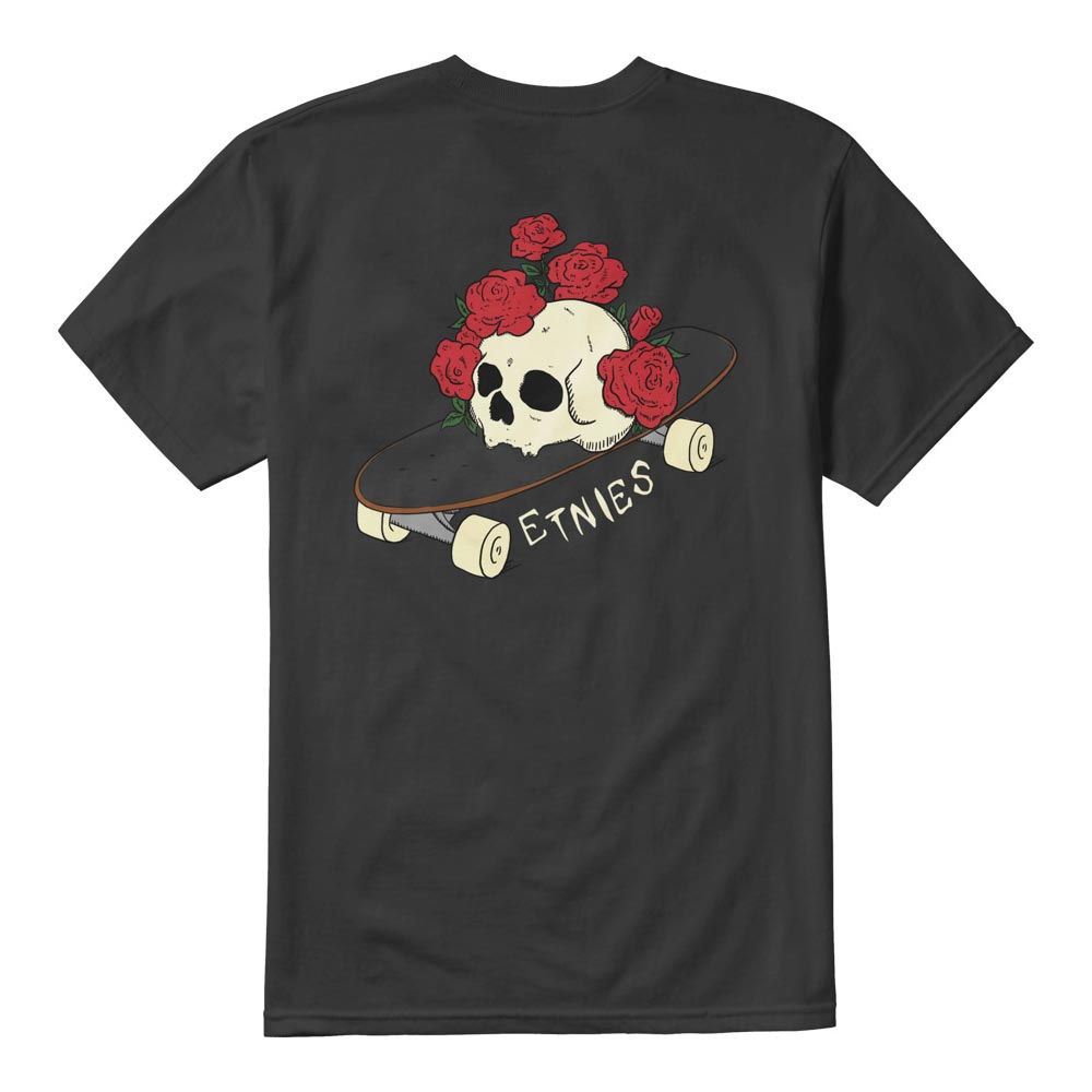 Etnies Rose Roll Black Men's T-Shirt
