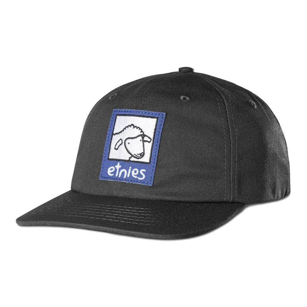 Etnies Sheep Snapback Black Hat