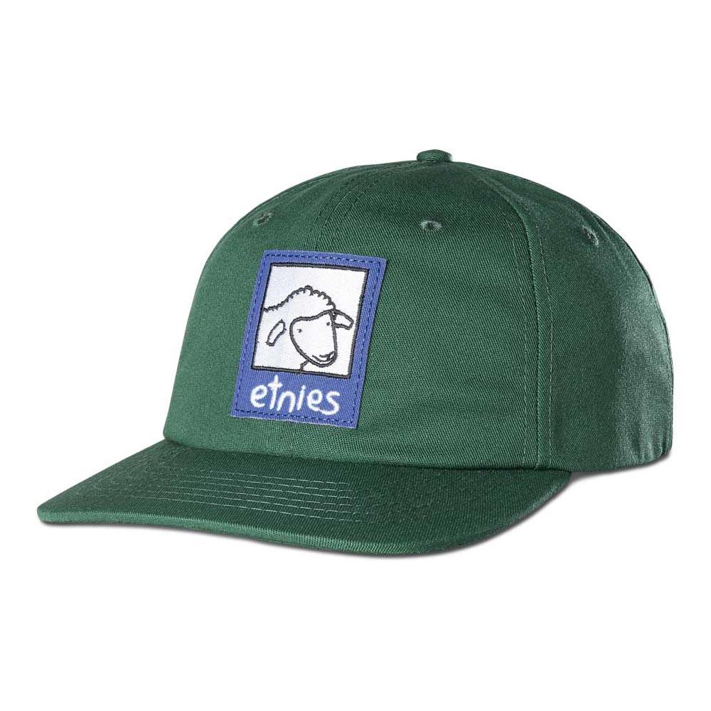 Etnies Sheep Snapback Green Hat