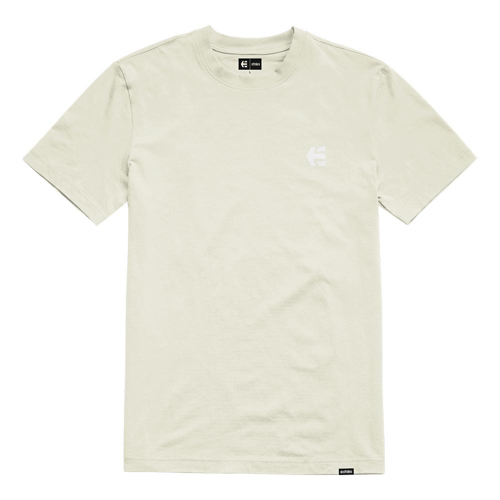 Etnies Team Embroidery Natural Men's T-Shirt