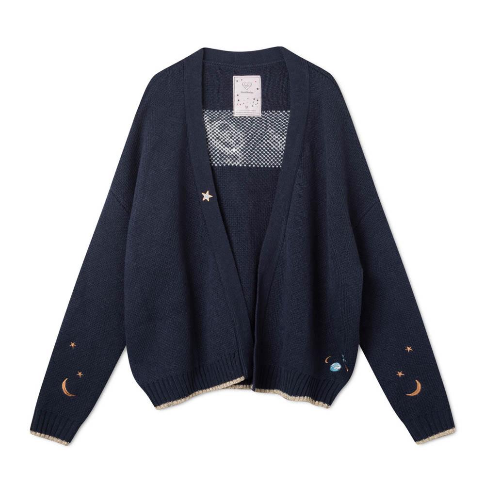 Femi Stories Sky Sweater Navy