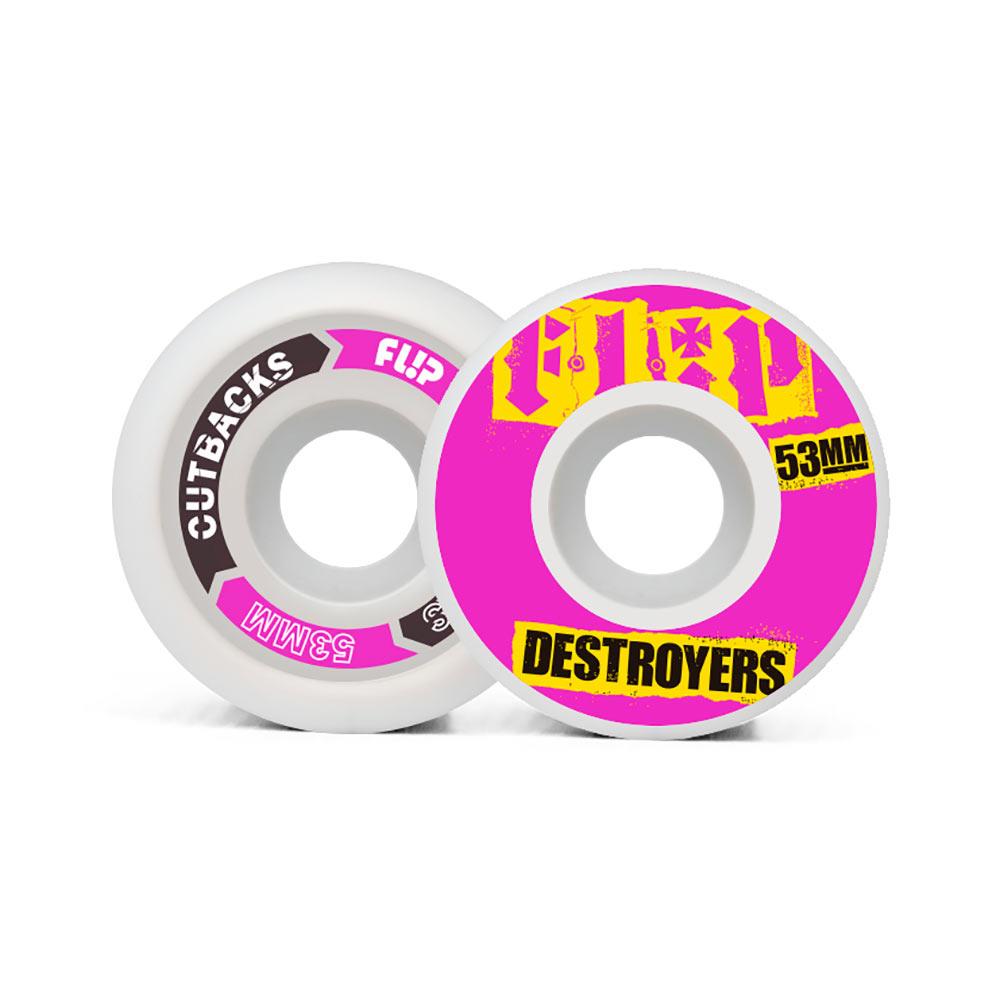 Flip Cutback Destroyers Pink 53mm 99a Wheels