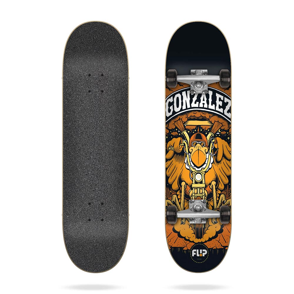 Flip Gonzalez Comix 7.88 Complete Skateboard