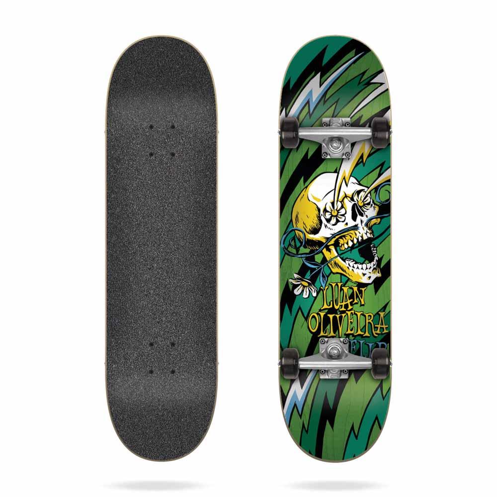 Flip Oliveira Blast Green 7.75 Complete Skateboard