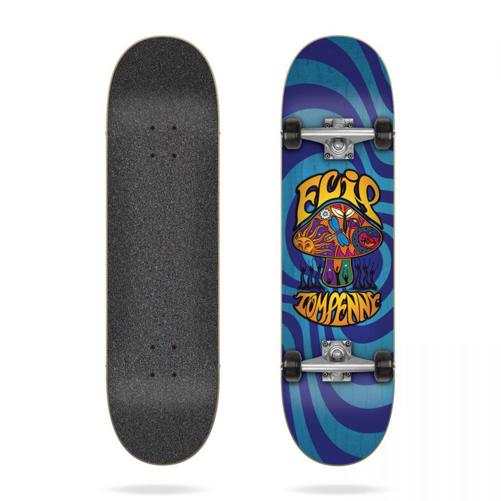 Flip Penny Loveshroom Blue 8.0 Complete Skateboard