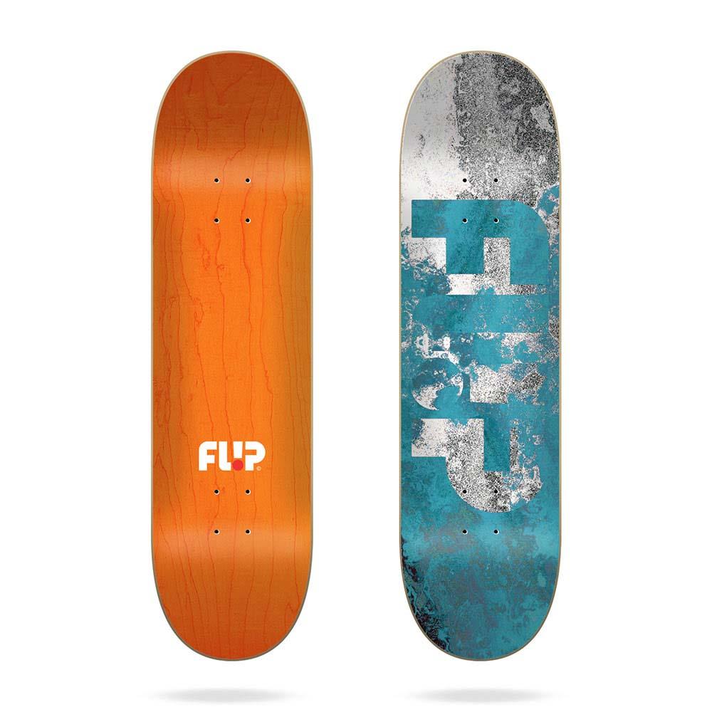 Flip Team Distortion Blue 8.38 Σανίδα Skateboard