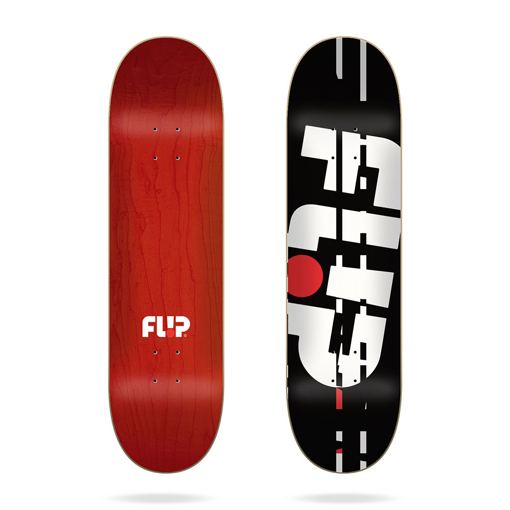Flip Team Odyssey Glitch Black 8.38 Skate Deck