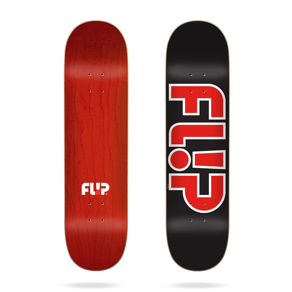 Flip Team Outlined Black 8.5