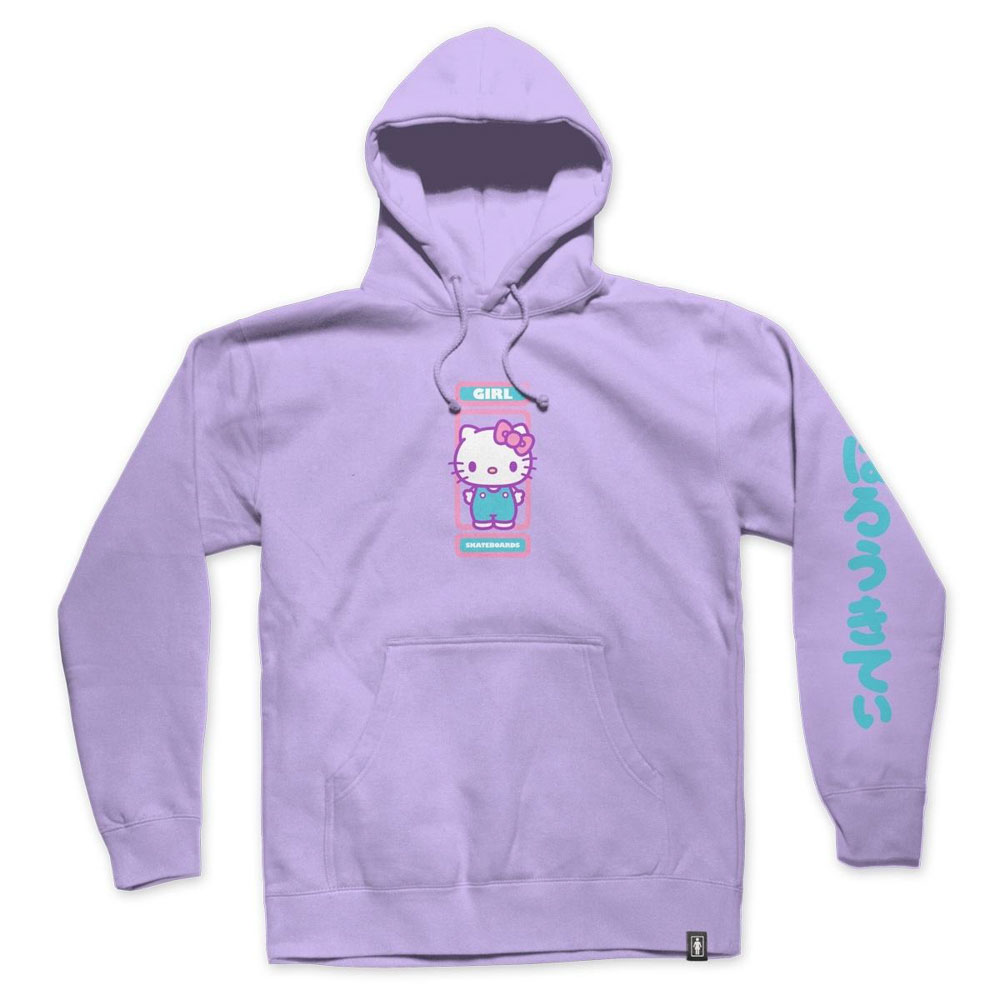 Girl Sanrio Kitty Pullover Lavander