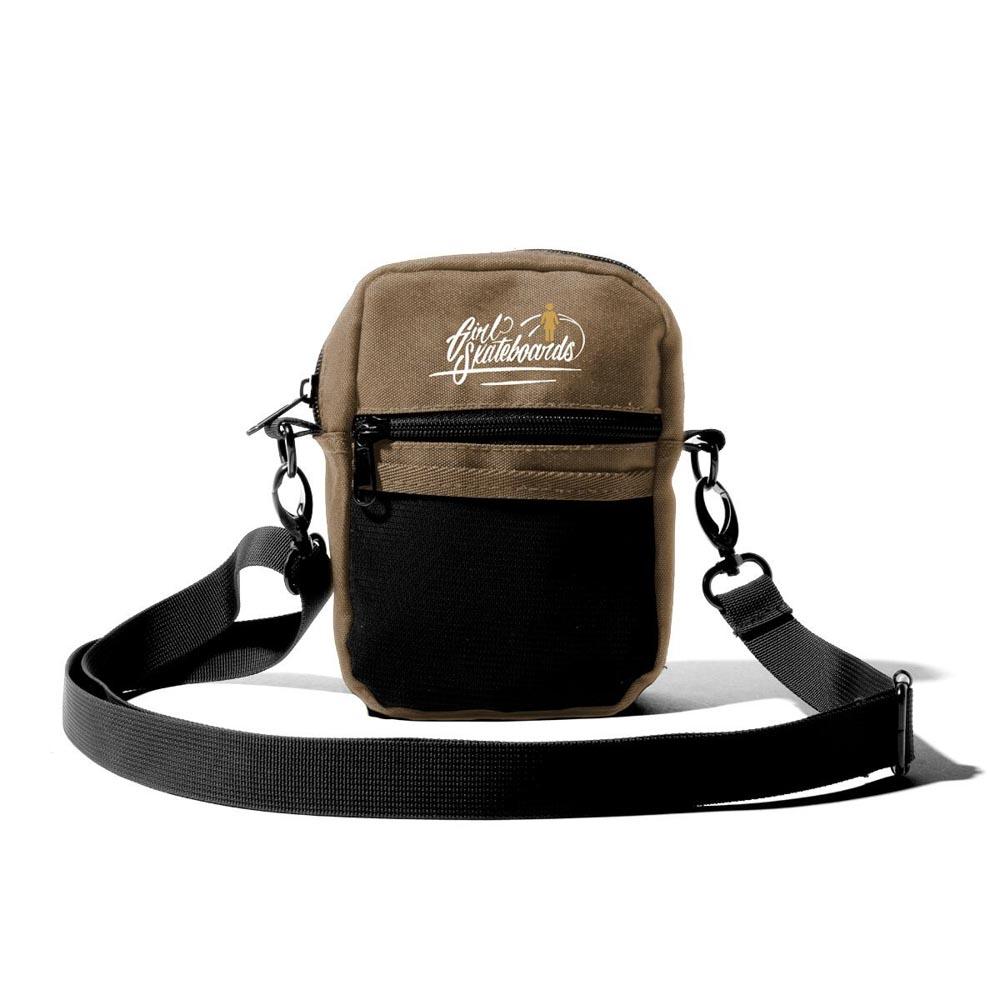 Girl Traveler Shoulder Bag Brown Bag