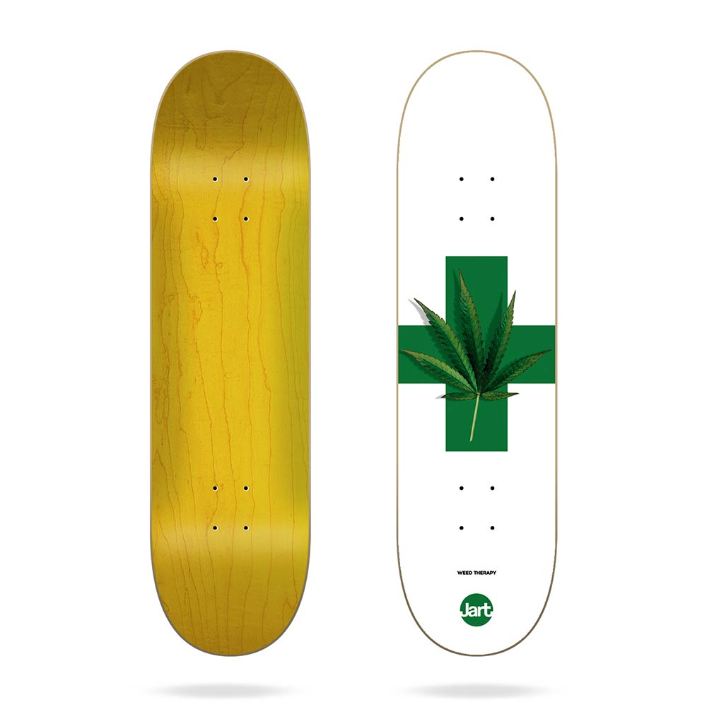 Jart Weed Therapy HC Skate Deck