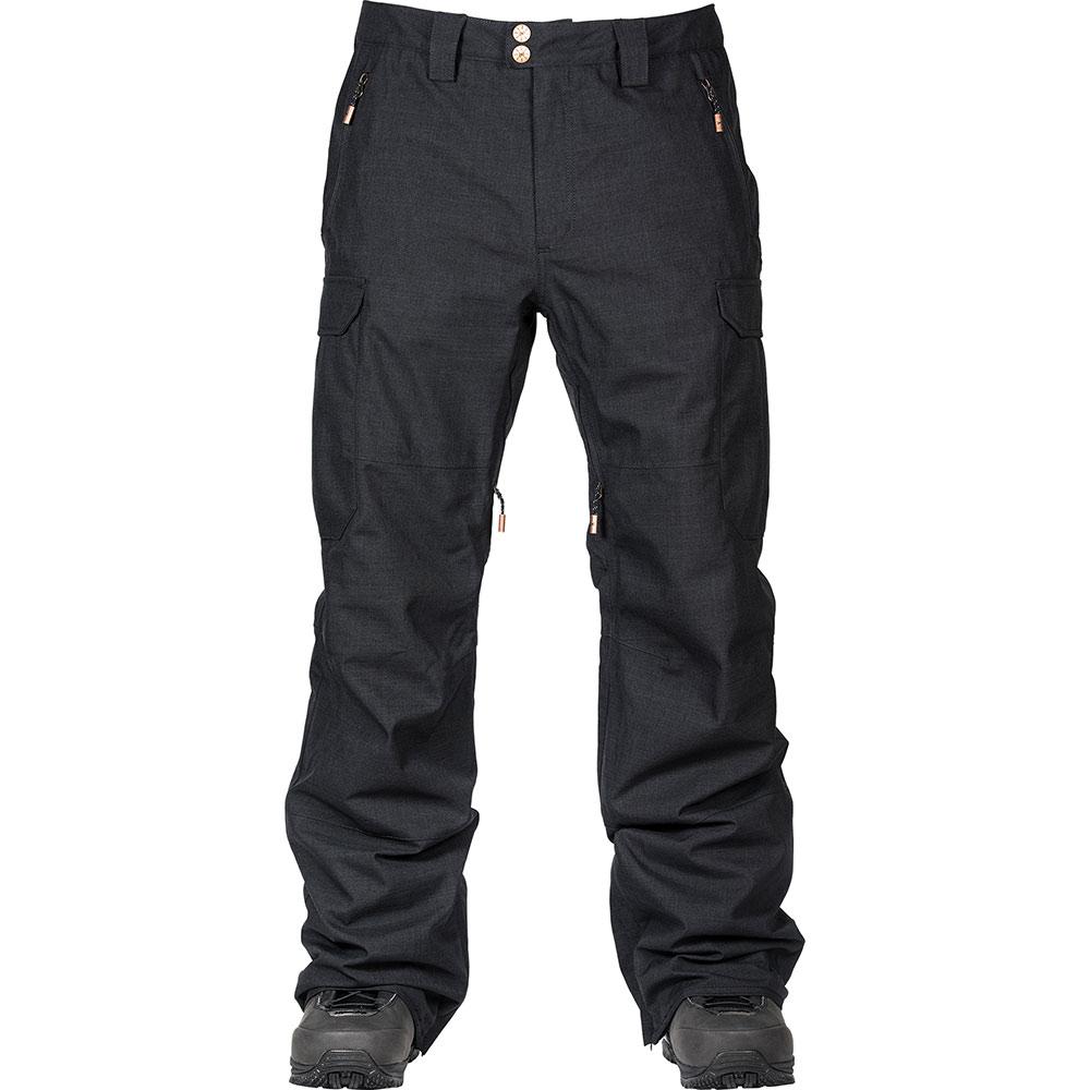 L1 Brigade Black Men's Snow Pants